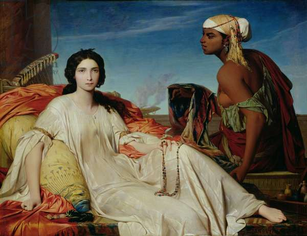 Esther as an Odalisque, 1844 (oil on canvas)
