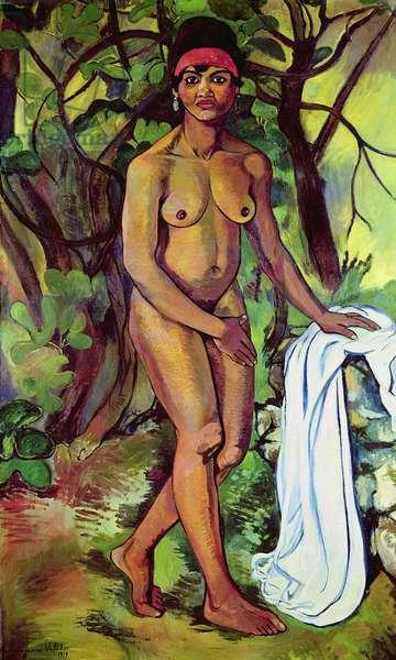 Nude Negress, 1919 (oil on canvas)