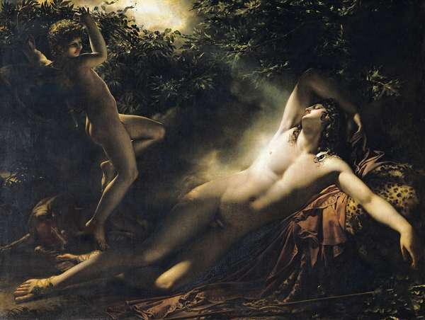 The Sleep of Endymion, 1791 (oil on canvas) (for copy see 62246)