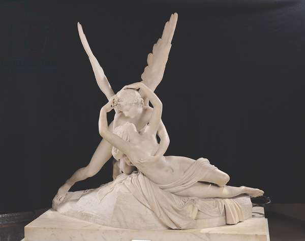 Psyche Revived by the Kiss of Cupid 1787-93 (marble) (see also 123192)