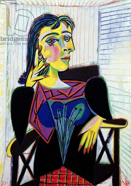 Portrait of Dora Maar, 1937 (oil on canvas)