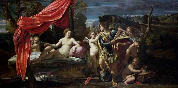 Mars and Venus, before 1620 (oil on canvas)