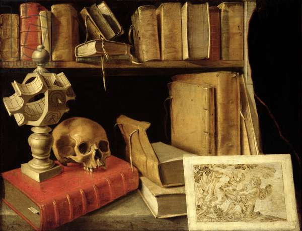 Vanitas with a Sundial, c.1626-40 (oil on canvas)