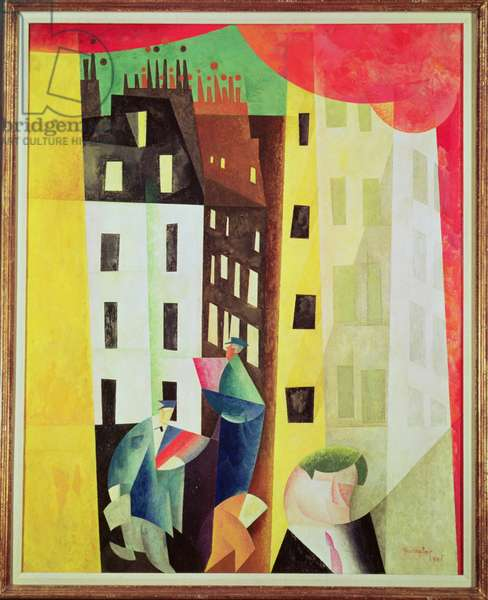 Architecture II or, The Man from Potin, 1921 (oil on canvas)