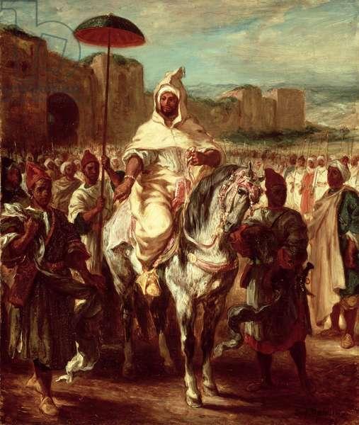Abd Ar-Rahman, Sultan of Morocco, 1845 (oil on canvas)