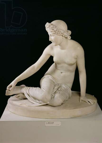 The Nymph Salmacis, 1826 (marble)