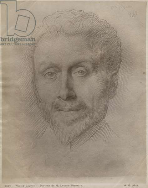 Leonce Benedite, 1899 (silverpoint on paper)