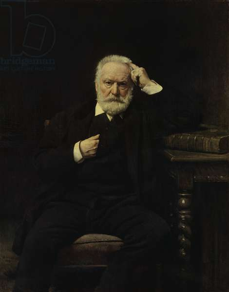 Portrait of Victor Hugo (1802-85) 1879 (oil on canvas)