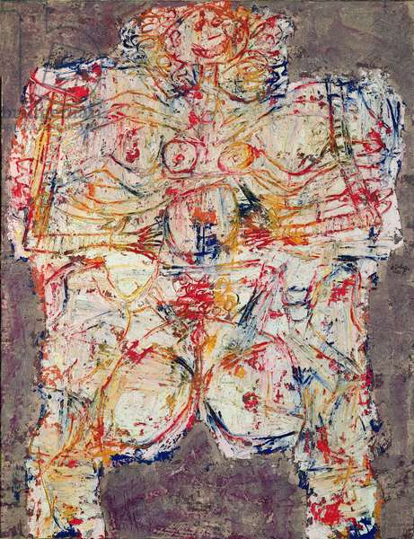 Body of a Woman, 1950 (oil on canvas)