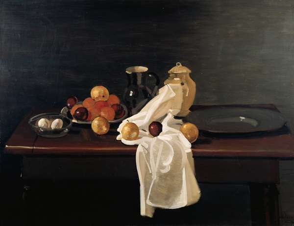Still Life with Oranges, 1931 (oil on canvas)