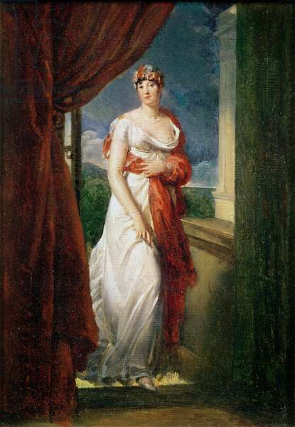 Madame Tallien (1773-1835) (oil on canvas)