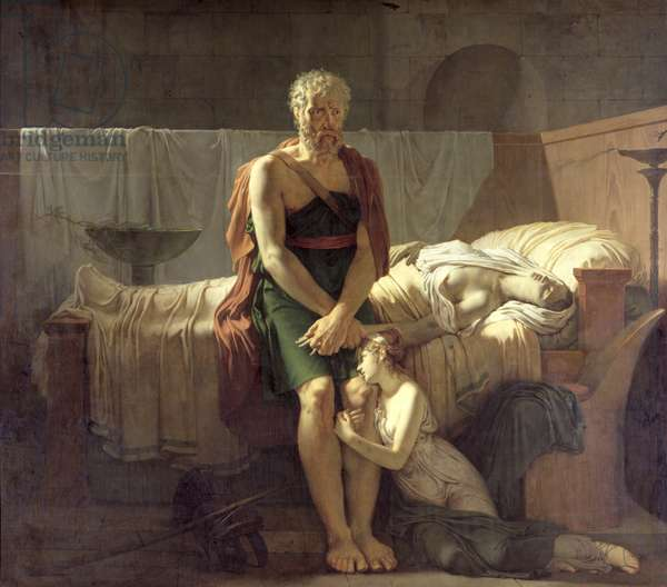 The Return of Marcus Sextus, 1799 (oil on canvas)