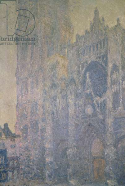 Rouen Cathedral, Harmony in White, Morning Light, 1894 (oil on canvas)
