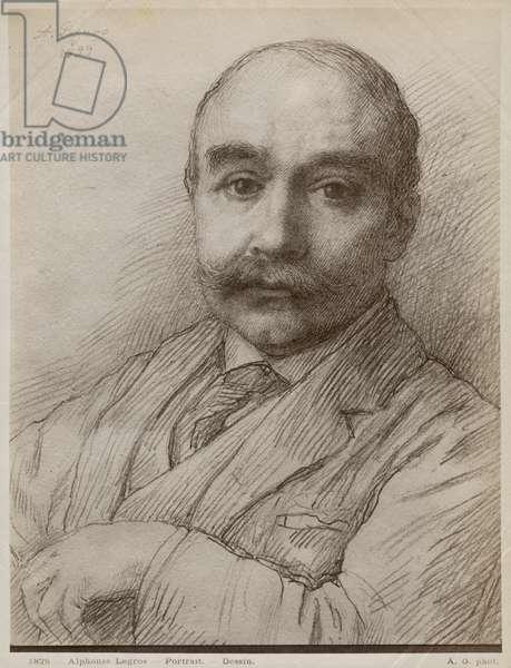 M. Adams, 1899 (black lead on paper)