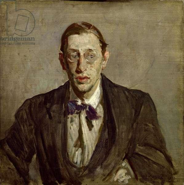 Study for a Portrait of Igor Stravinsky (1882-1971), 1913 (oil on canvas)