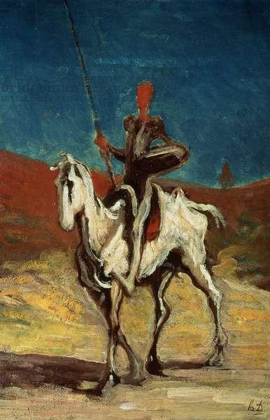 Don Quixote, c.1865-1870 (oil on canvas)