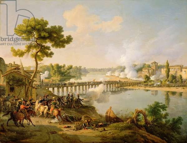 General Bonaparte (1769-1821) Giving Orders at the Battle of Lodi, 10th May 1796, c.1804 (oil on canvas)