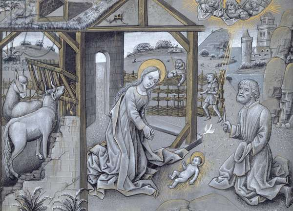 The Nativity (vellum)