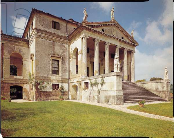 View of the facade, c.1566-67 (photo)