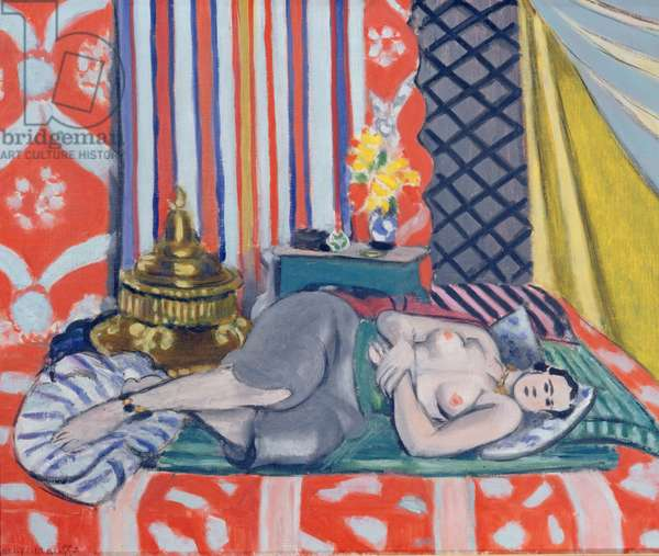 Odalisque in grey culottes, 1927 (oil on canvas)