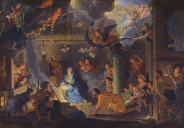 Adoration of the Shepherds, 1689 (oil on canvas)
