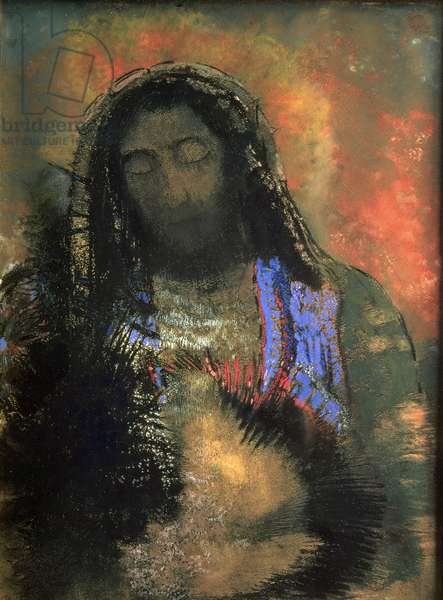 Sacred Heart, 1910 (pastel on paper)