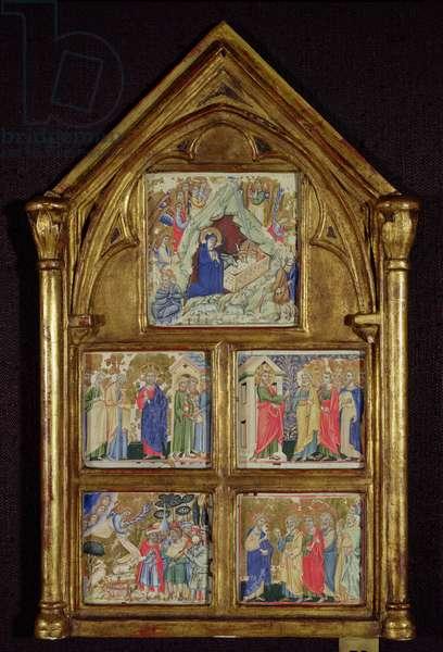 Scenes from the New Testament (vellum)