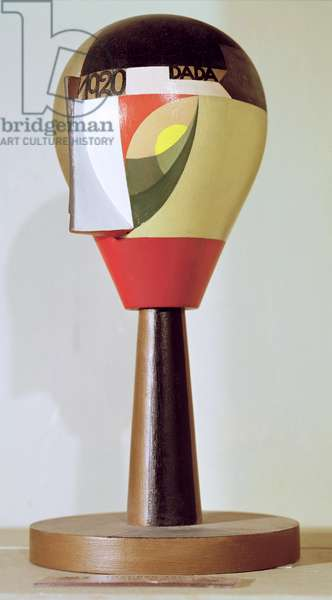 Dada Head, 1920 (painted wood)