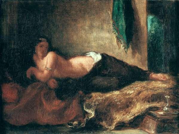 Odalisque (oil on canvas)