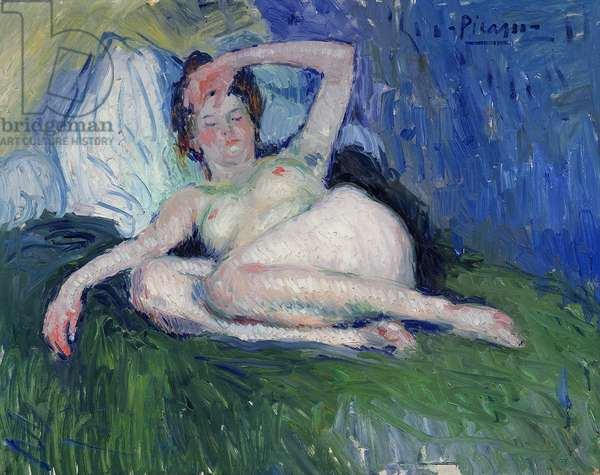 Reclining Nude, 1901 (oil on canvas)
