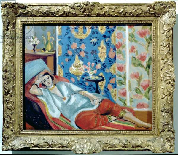 Odalisque in red culottes, 1924-25 (oil on canvas)