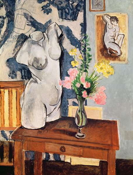 The Plaster Torso, 1919 (oil on canvas)