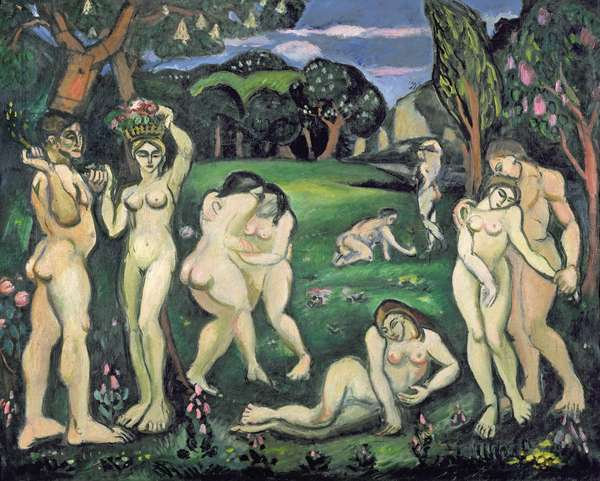 Spring, 1908 (oil on canvas)