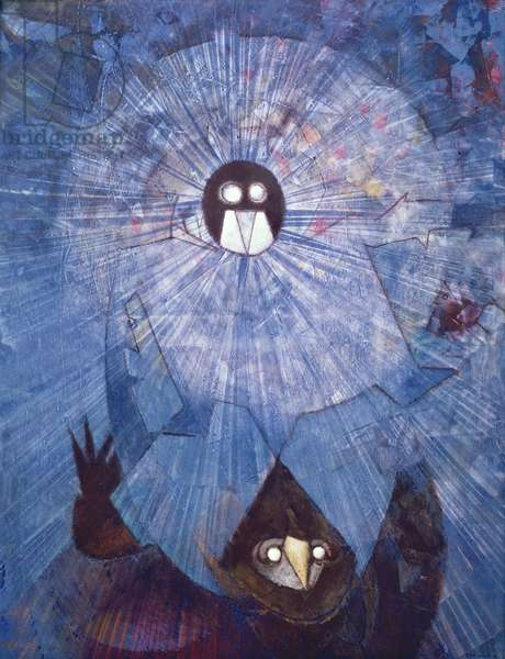 Unknown Gods, 1957 (oil on canvas)