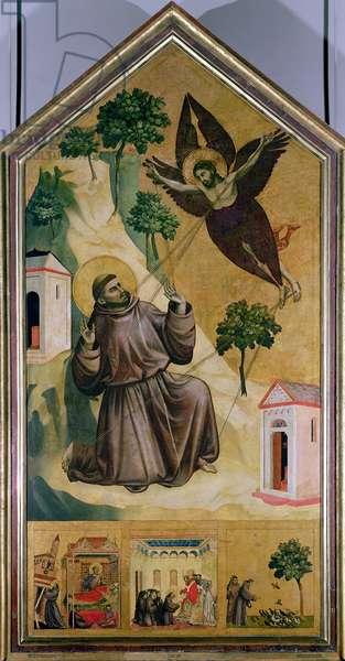 St. Francis Receiving the Stigmata, c.1295-1300 (tempera on panel)