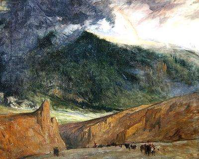 The Ironage, 1914 (oil on canvas)