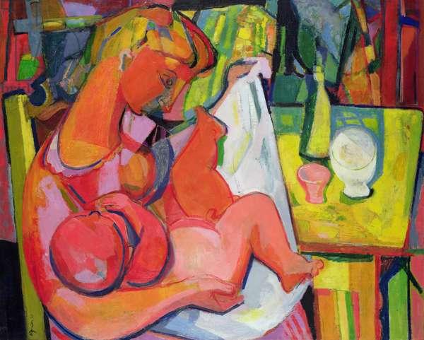 Maternity, 1942 (oil on canvas)