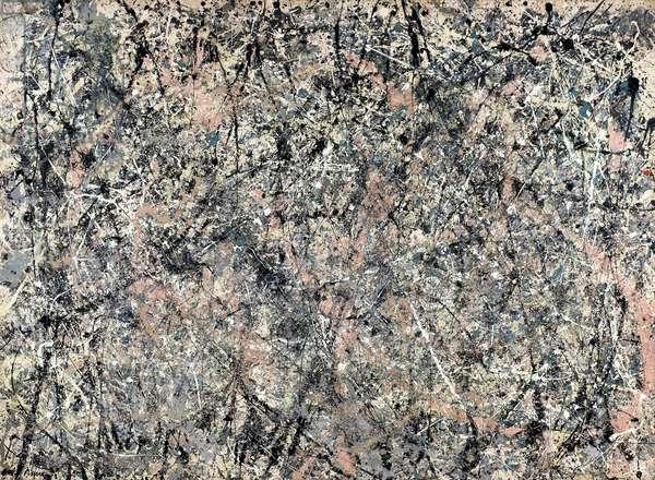 Lavender Mist: Number 1, 1950 (oil, enamel & aluminium paint on canvas)