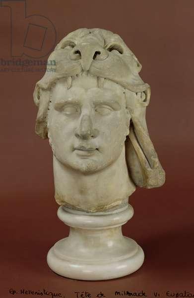Mithridates VI (132-63 BC) Eupator, King of Pontus (marble) (see also 177442)