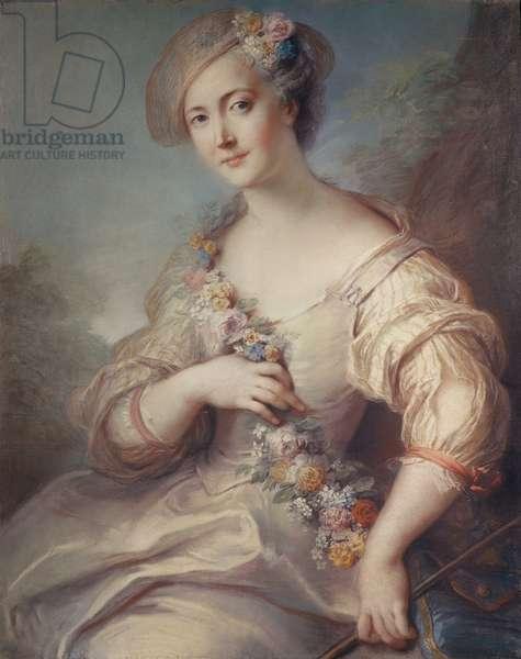Marquise de Beuvron (pastel)