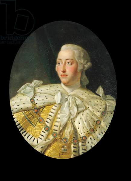 Portrait of King George III, after 1760 (oil on canvas)