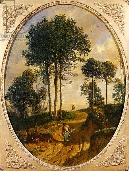 The Poacher (oil on canvas)