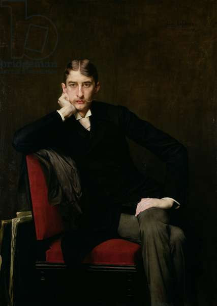 Portrait of M. Fitzgerald, 1889 (oil on canvas)