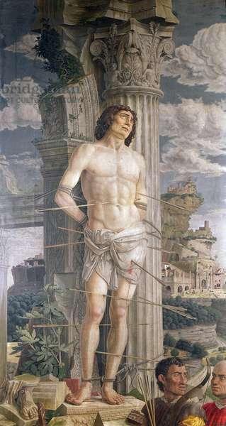 St. Sebastian, 1481 (oil on canvas)