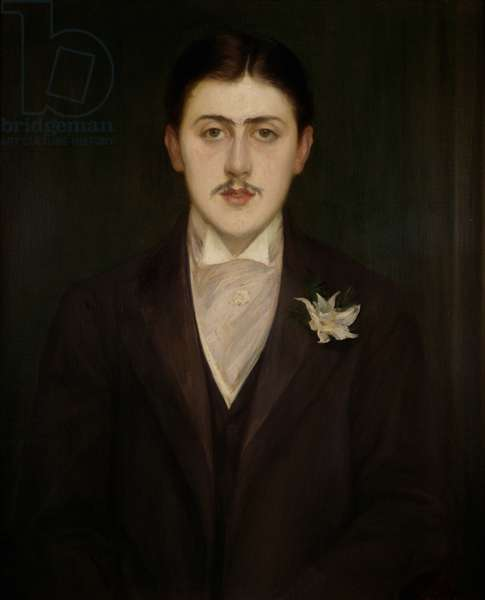 Portrait of Marcel Proust (1871-1922) 1892 (oil on canvas)