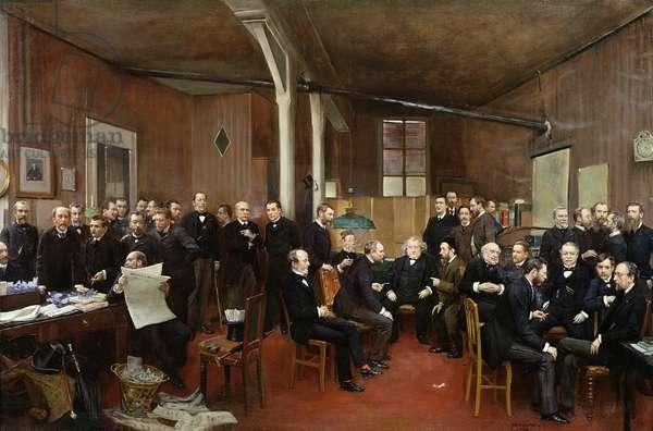 Le Journal des Debats, 1889 (oil on canvas)