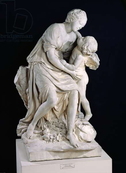 Love and Friendship, 1758 (marble)