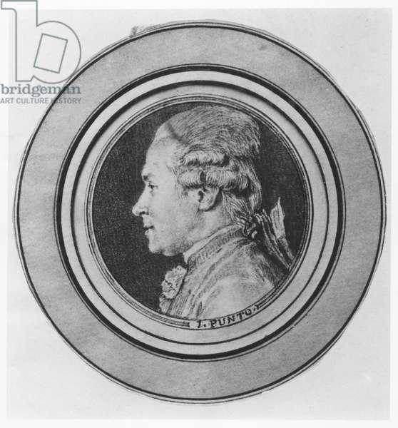 Portrait of Giovanni Punto (litho)