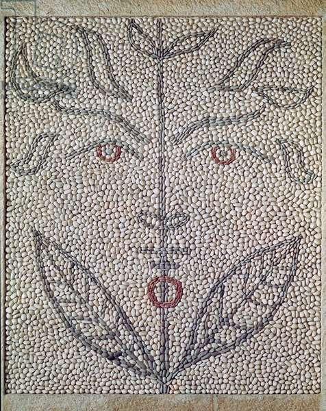 Stylised Head (mosaic)