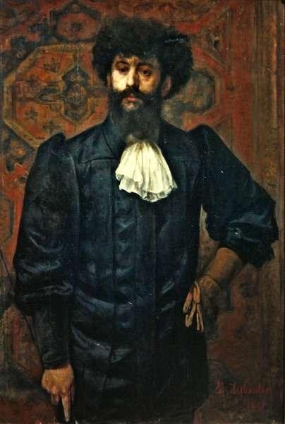 Portrait of Joseph Peladen, 1891 (oil on canvas)